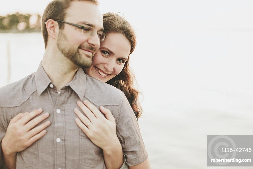 Portrait Of A Couple, Crescent Beach, British Columbia, Canada