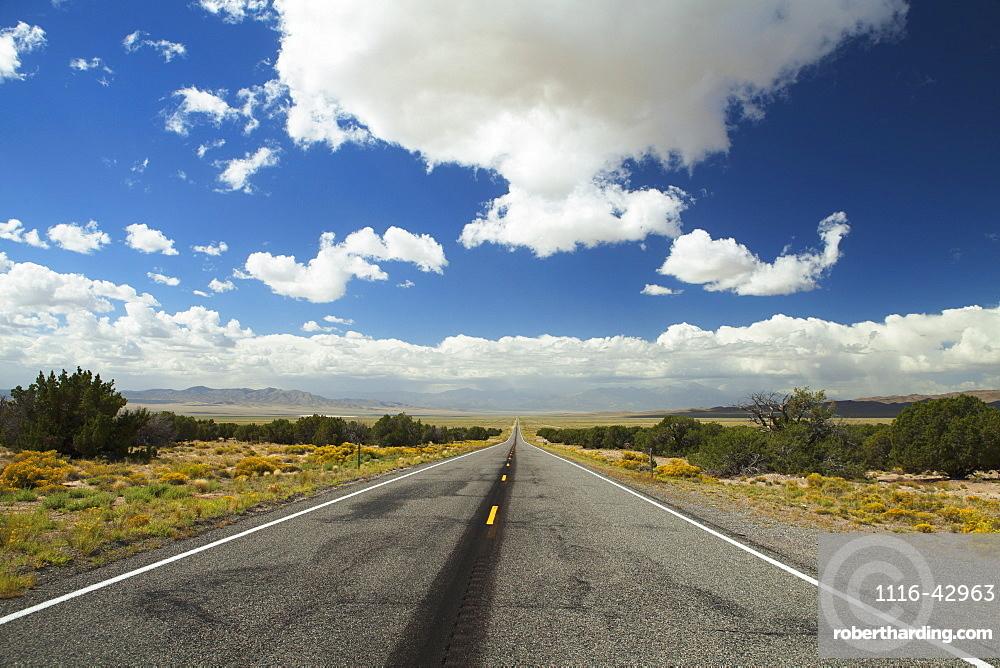 Lonesome Highway, Nevada, United States Of America