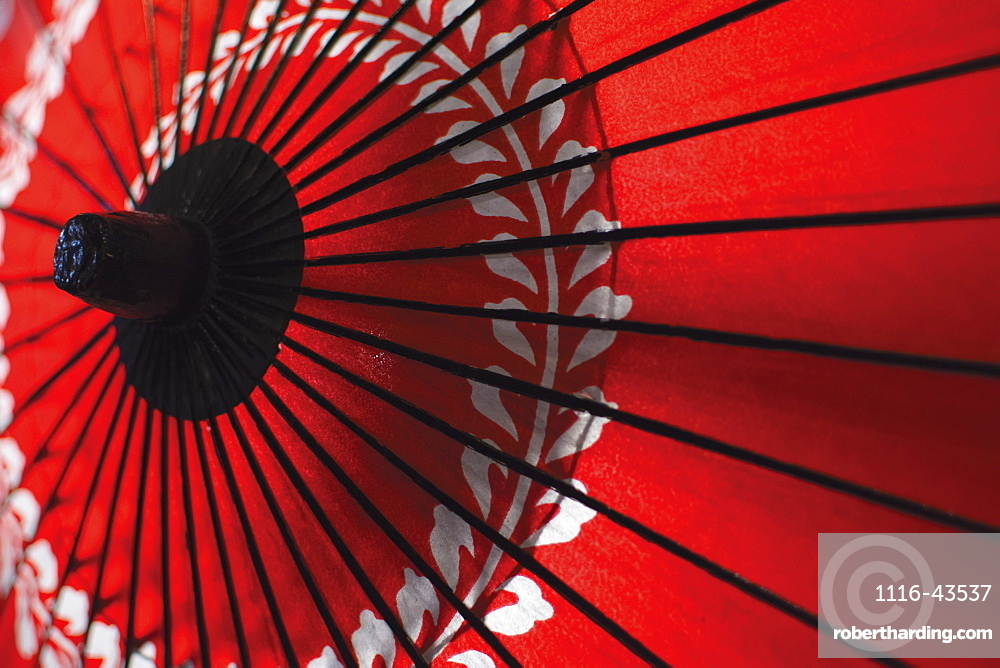 Japanese Red Umbrella, Kyoto, Japan