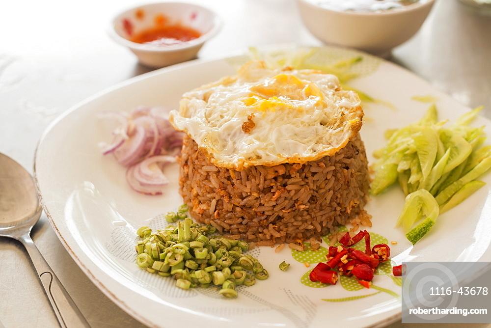 Fried Rice Khmer Style, Battambang, Cambodia