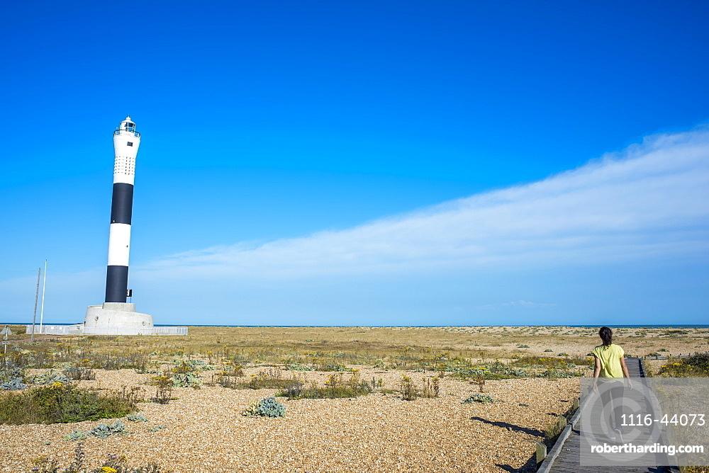 Dungeness Lighthouse, Dungeness, Kent, England