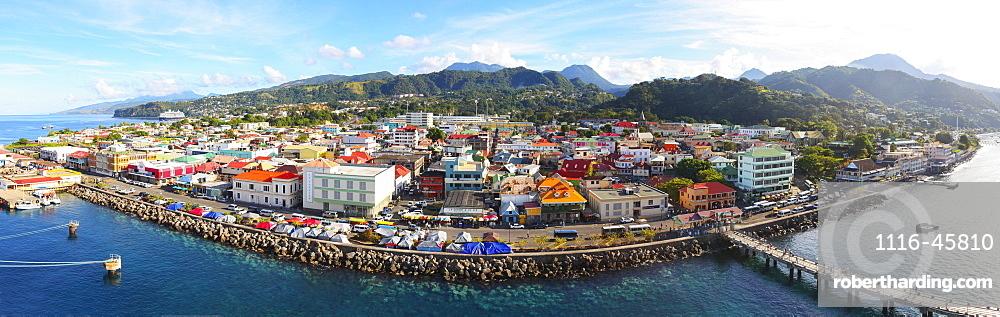 Downtown Roseau On The Caribbean, Roseau, Dominica