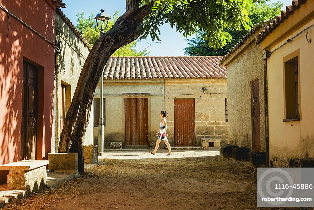 Houses In A Village Of Medieval Origin, San Salvatore Di Sinis, Sardinia, Italy