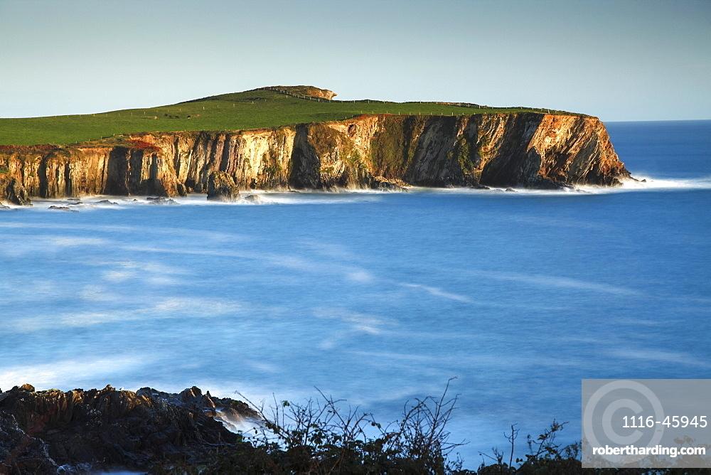 Coastal Cliffs Around Toe Head On The Wild Atlantic Way In West Cork, County Cork, Ireland
