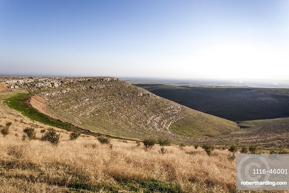 Site Of Ancient Ruins Of The Oldest Civilization, Gobekli Tepe, Turkey