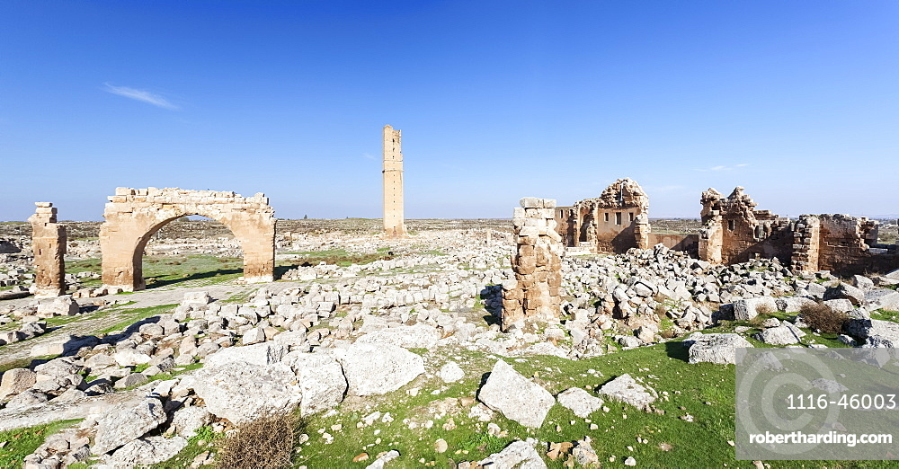 Ruins Of The Grand Mosque Of Harran, Harran, Turkey