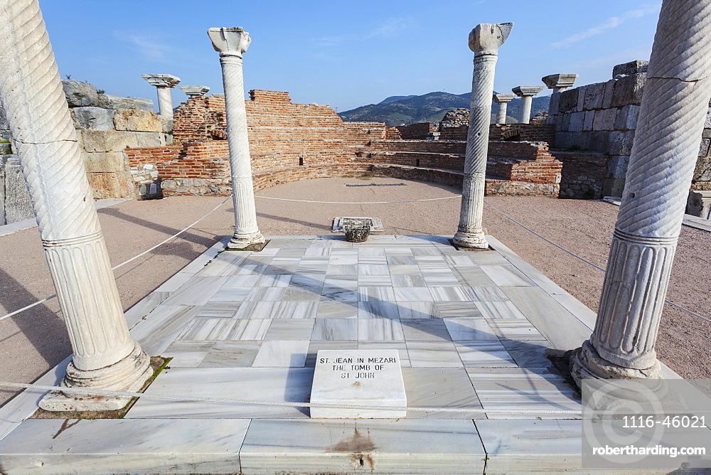 Tomb Of Saint John And Saint John's Bascilica, Ephesus, Turkey