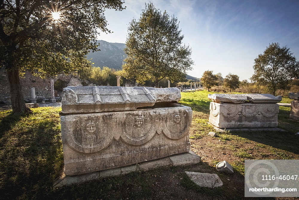 An Ancient Ossuary, Ephesus, Turkey