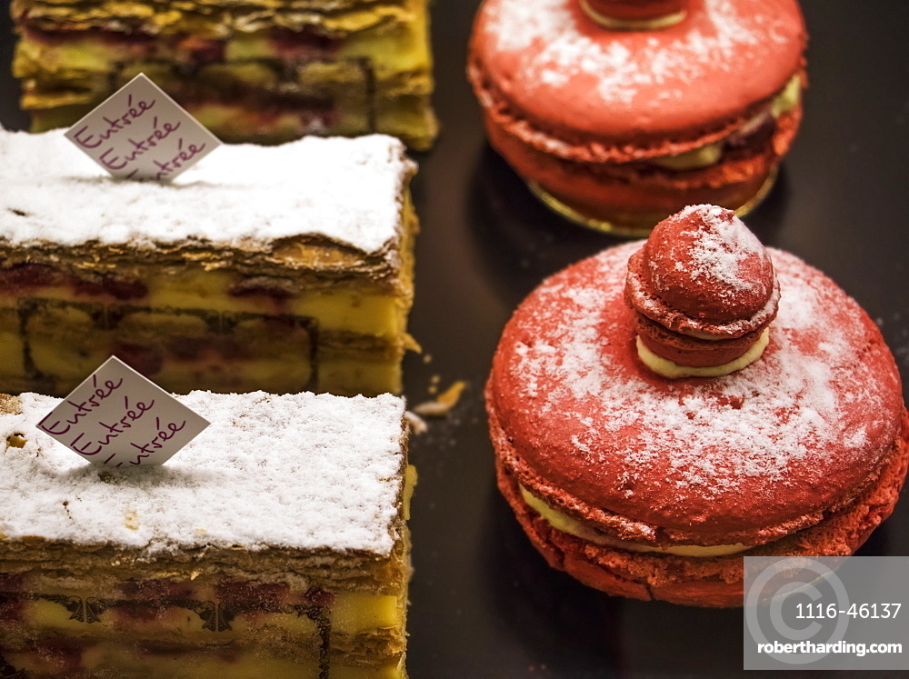 Mille-Feuille And Macaroons, Tbilisi, Georgia