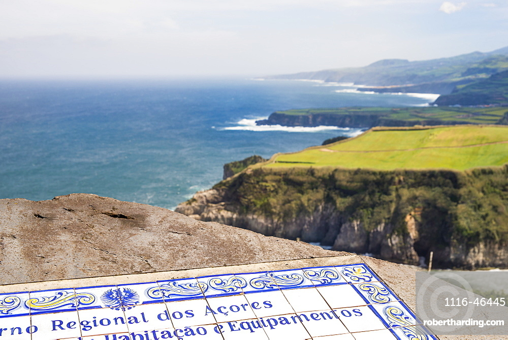 View Of Santa Iria Bay, Sao Miguel, Azores, Portugal