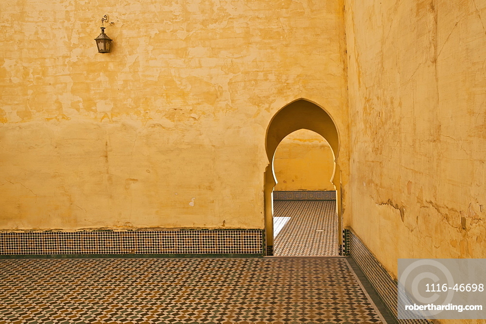 A Traditional Entrance, Meknes, Morocco