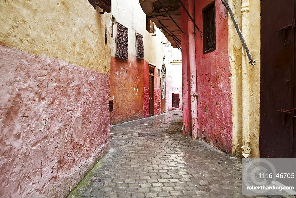 Backstreets Of Tangier Medina, Tangier, Morocco