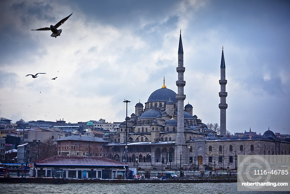 The Yeni Cami (Pronounced Yeni Jami), Meaning New Mosque, Istanbul, Turkey