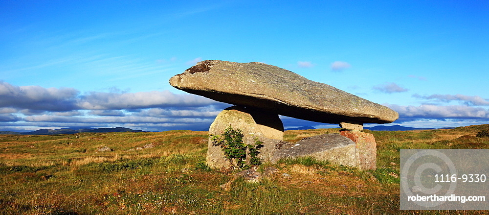 Ancient Dolmen Megalithic Tomb; Ardara, County Donegal, Ireland