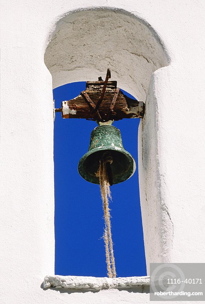 Church Bell, Mykonos, Cyclades Islands