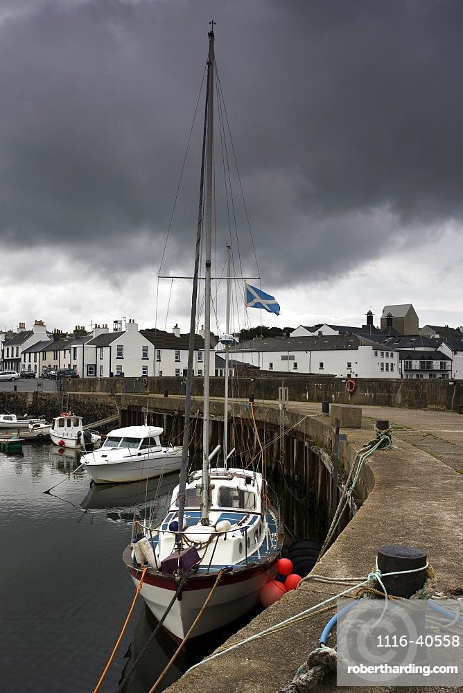 Boats Moored, Islay, Scotland