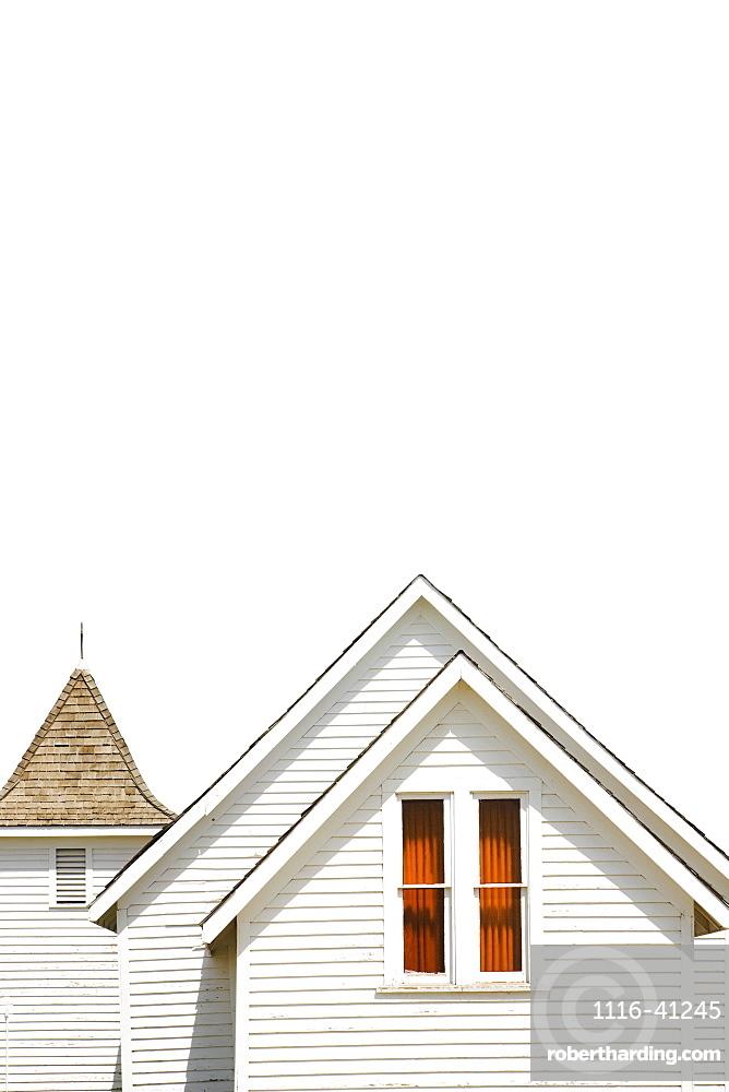 Camrose, Alberta, Canada, An Old White School House