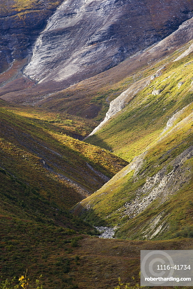 Brooks Range, Gates Of The Arctic National Park, Northwestern Alaska, Alaska, United States Of America