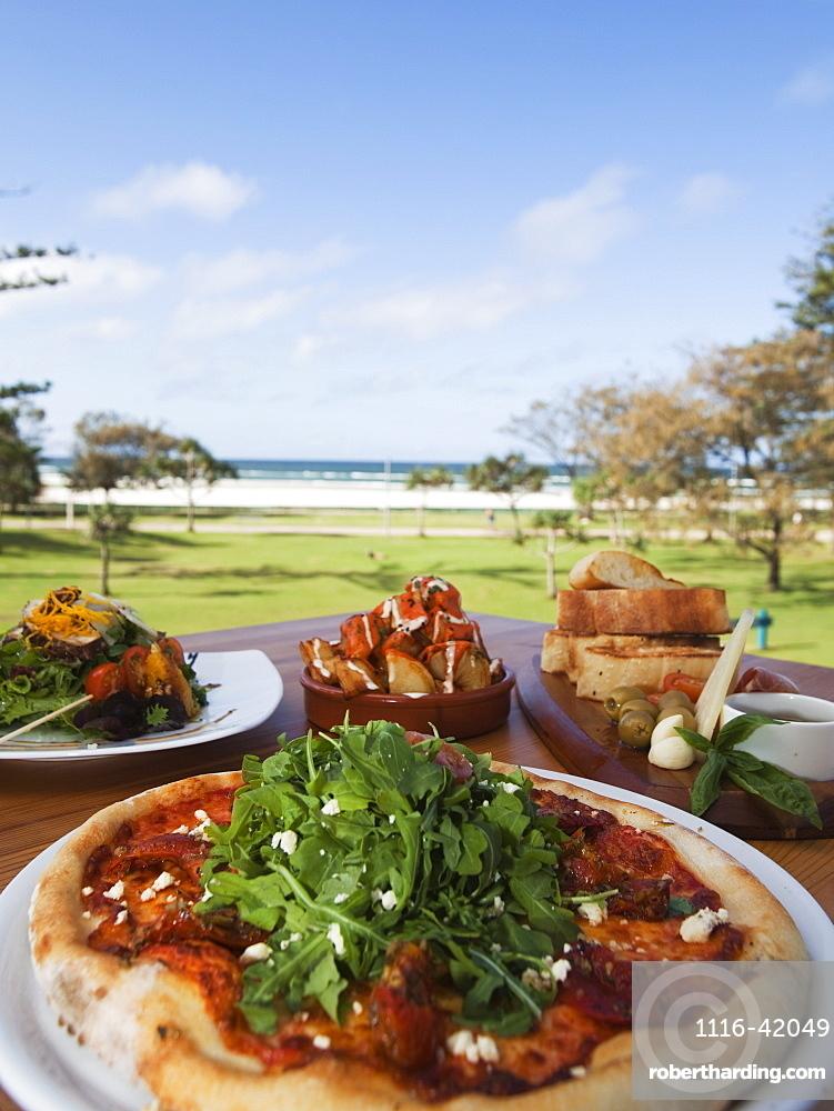 Pizza And Spanish Tapas, Kirra Gold Coast, Queensland, Australia