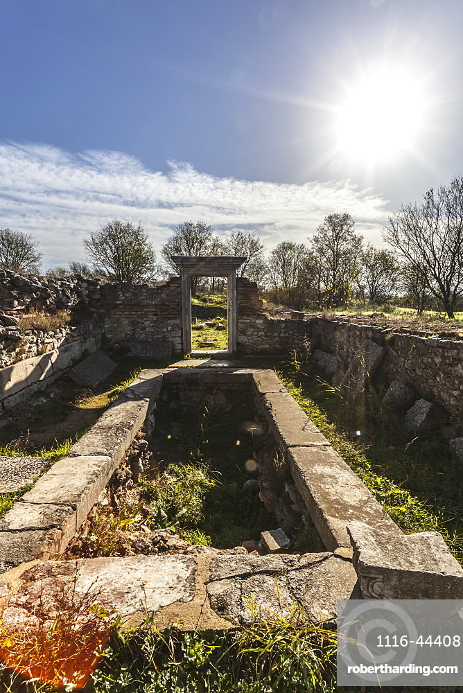 Basilica B Ruins, Philippi, Greece