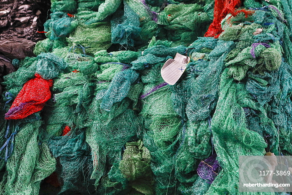 Green recycling nets