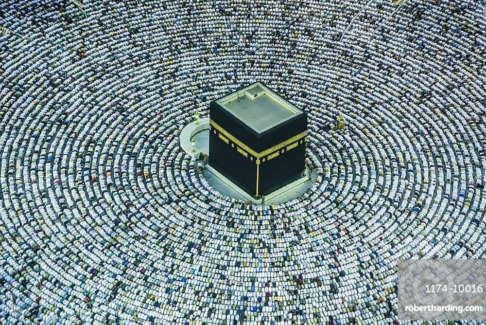The Hajj annual Islamic pilgrimage to Mecca, the holy city in Saudi Arabia
