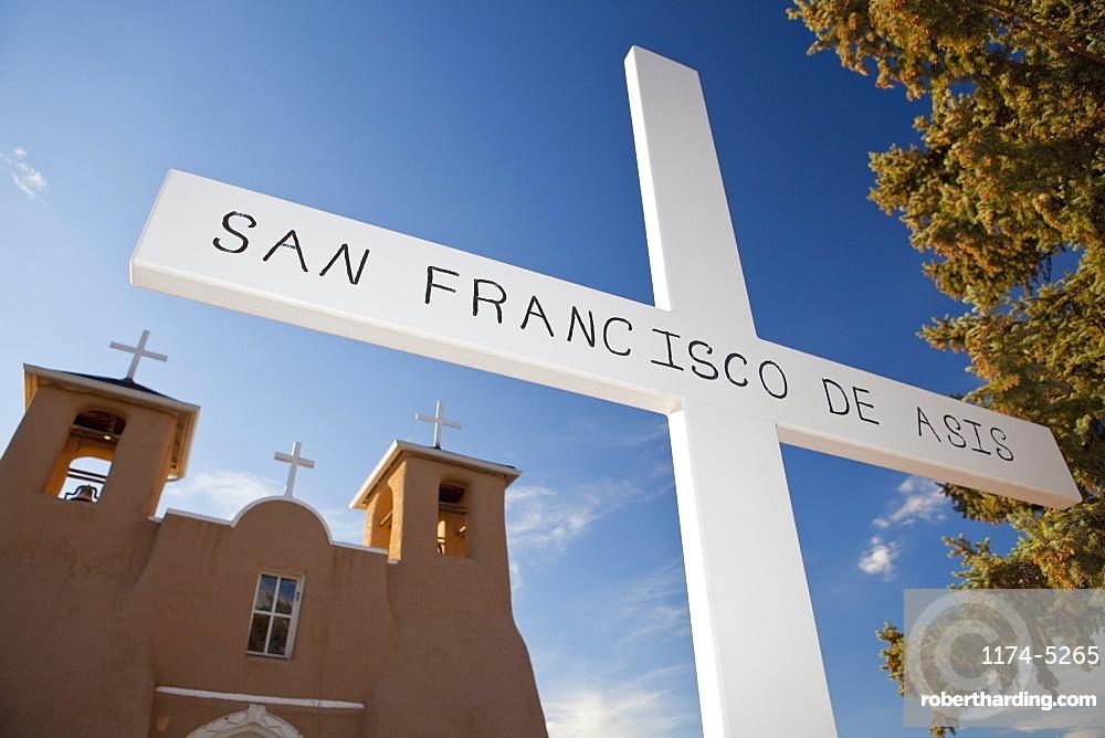 San Francisco de Asis Mission Church, Ranchos de Taos, New Mexico, United States of America