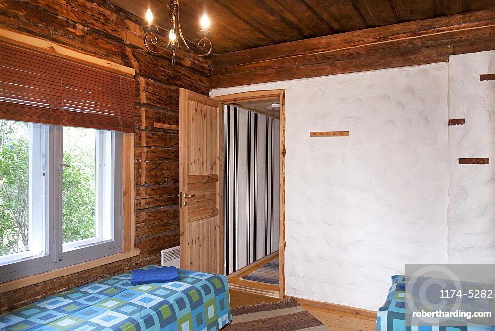 Beds in a Small Resort Bedroom, Estonia