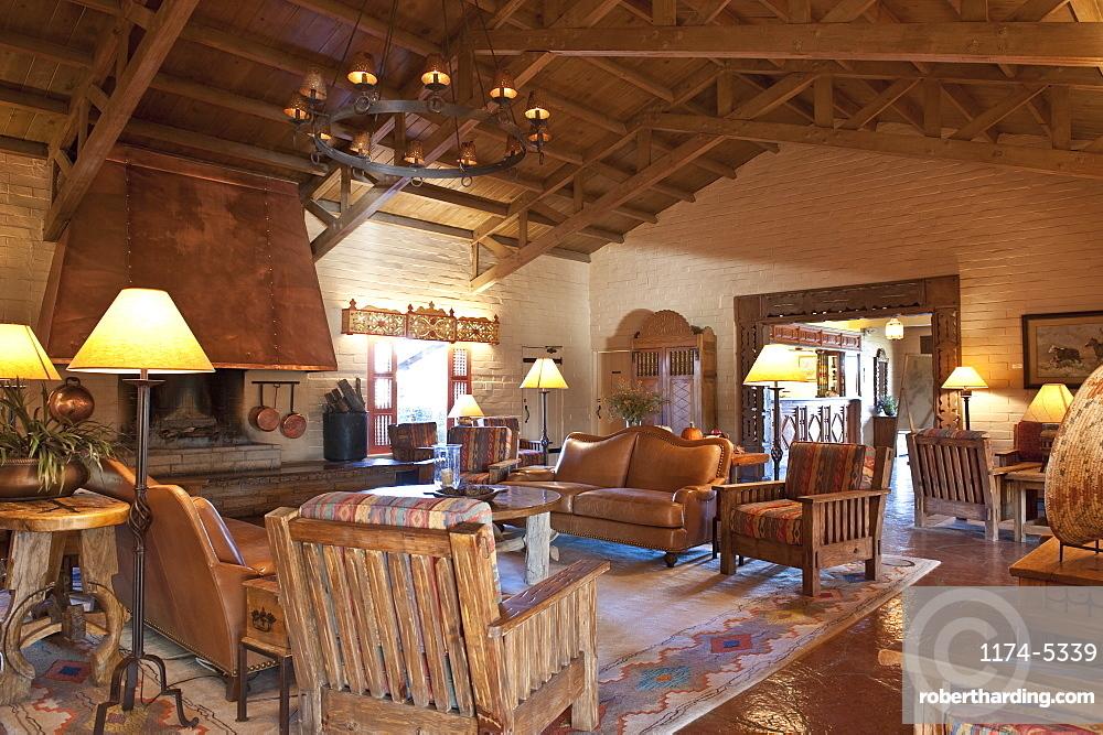 Southwestern Style Great Room, Wickenburg, Arizona, United States of America