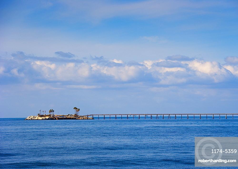 Bridge to Island, California, United States of America