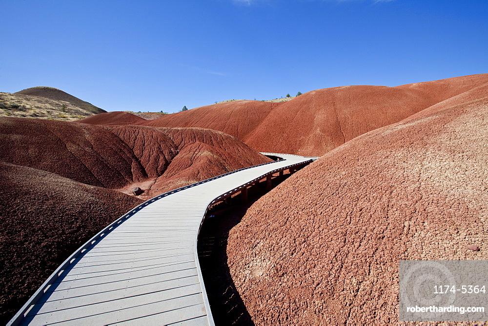 Pathway Through Desert, Oregon, United States of America
