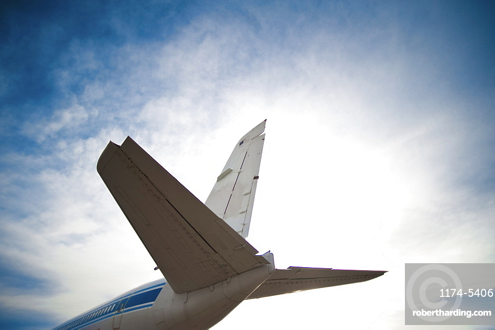 Tail of a Plane, Mojave, California, United States of America