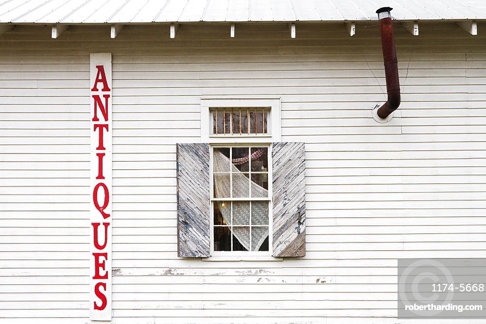 Antique Store Facade, Louisiana, USA