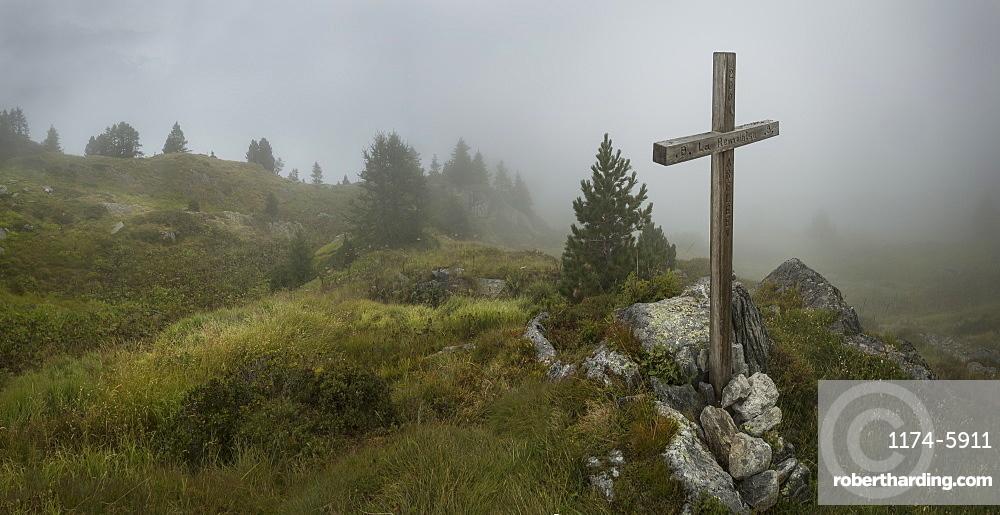 Cross, Mt. Blanc, Switzerland, Mount Blanc, Switzerland
