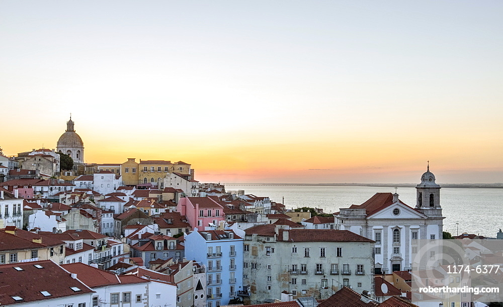 Aerial view of Lisbon cityscape, Lisbon, Portugal, Lisbon, Portugal