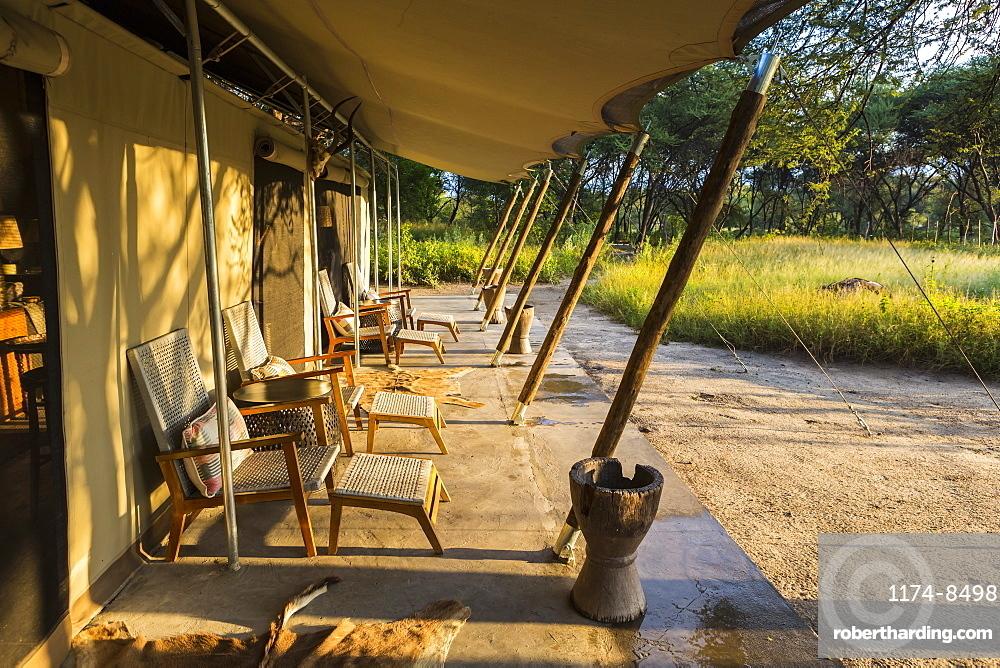 tented camp, Maun, Botswana