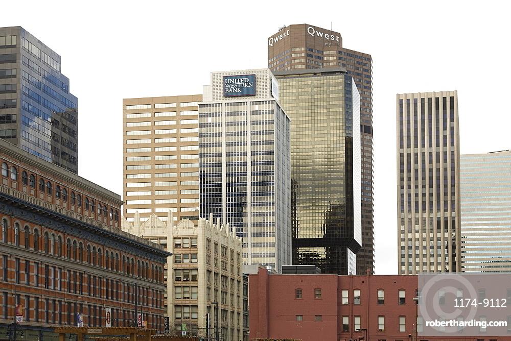 Downtown Office Buildings, Denver, Colorado, Denver, Colorado, USA