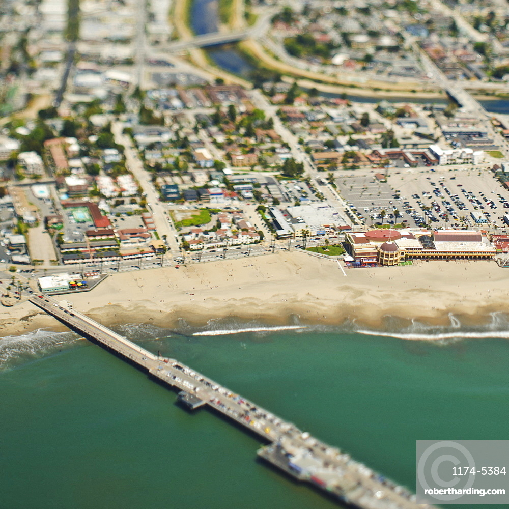 Coastal Community and Bridge, Santa Cruz, California, United States of America