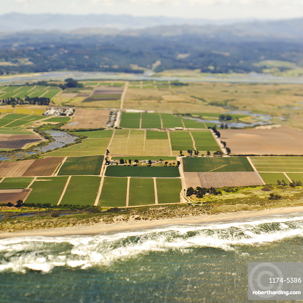 Coastal Farmland, San Mateo, California, United States of America