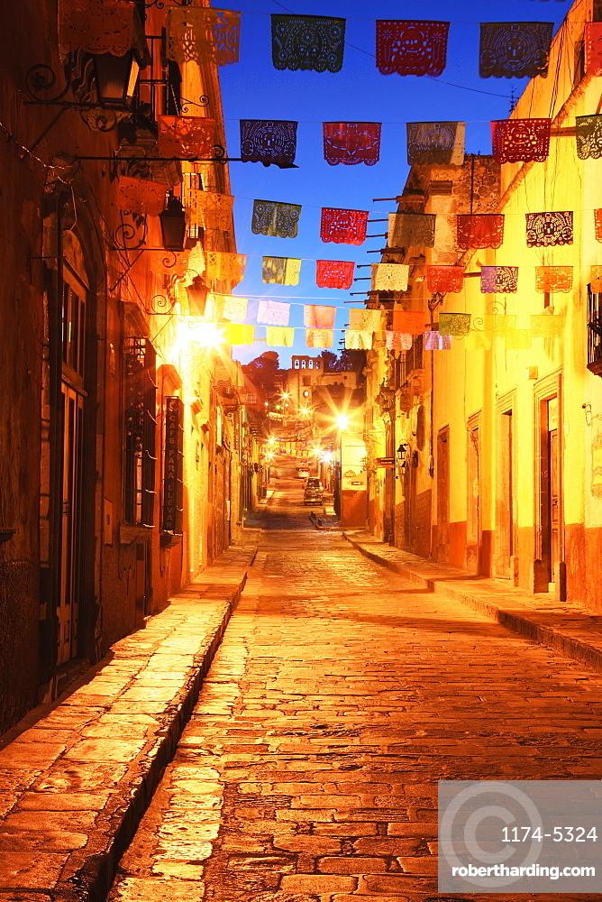 Decorated Streets, San Miguel de Allende, Guanajuato, Mexico