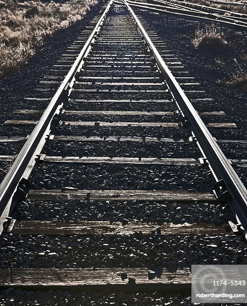 Railroad Tracks, Socorro, New Mexico, United States of America