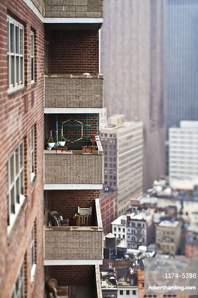 High Rise Apartment Building, New York City, New York, United States of America