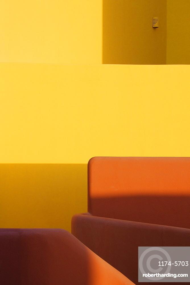 Shadows on Walls and Furniture, San Jose Los Cabos, Baja California, Mexico
