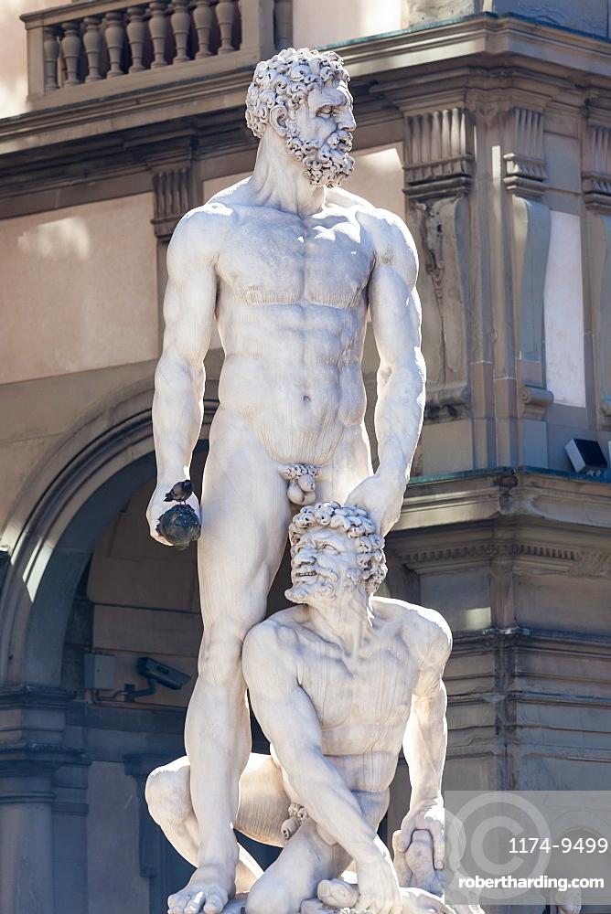 Statue of Neptune, Piazza Della Signora, Florence, Italy