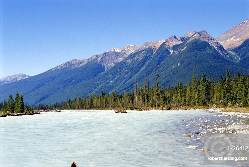 Kicking Horse River, Rocky Mountains, British Columbia, Canada