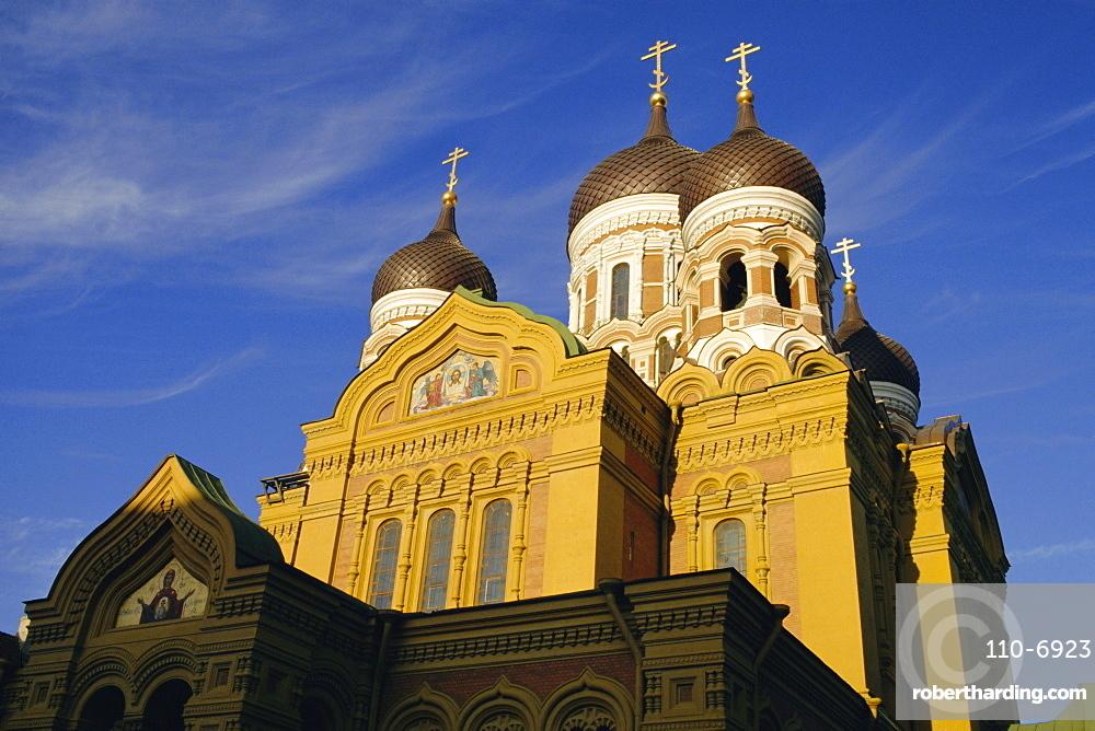 Alexander Nevski Cathedral, Tallinn, Estonia, Europe