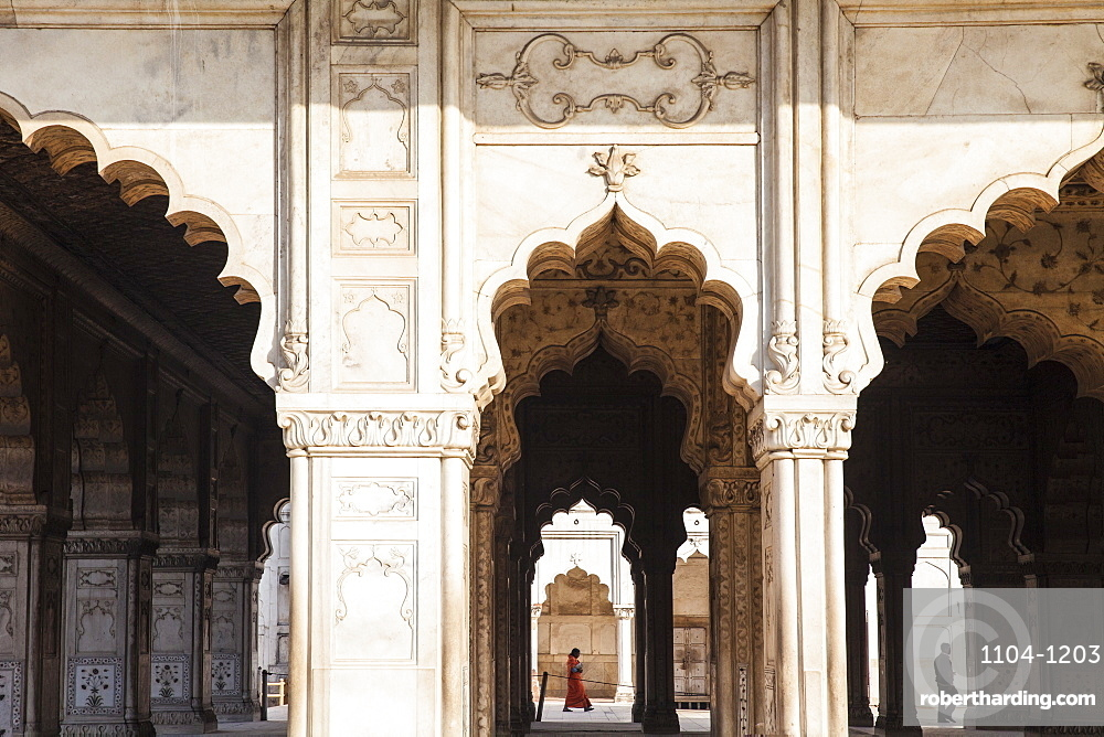 The Diwan-i-Khas in the Red Fort | Mughal architecture