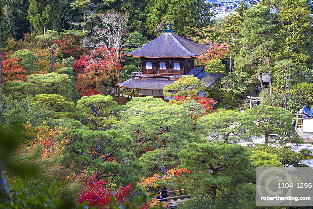 Ginkakuji Temple, UNESCO World Heritage Site, Kyoto, Japan, Asia