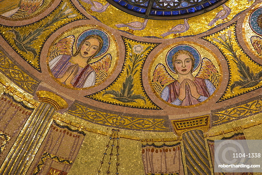 Church of All Nations (Church of the Agony) (Basilica of the Agony), Mount of Olives, Jerusalem, Israel, Middle East