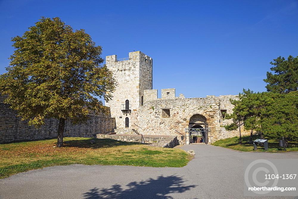 Diadar Tower, Belgrade Fortress, Kalemegdan Park, Belgrade, Serbia, Europe